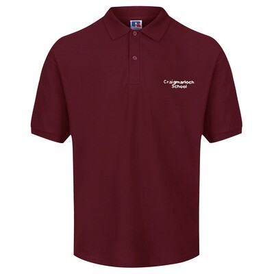 Craigmarloch Staff Polo Shirt (Male-fit) (RCS3800)