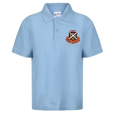 Dunoon Primary ELC Poloshirt in Sky Blue
