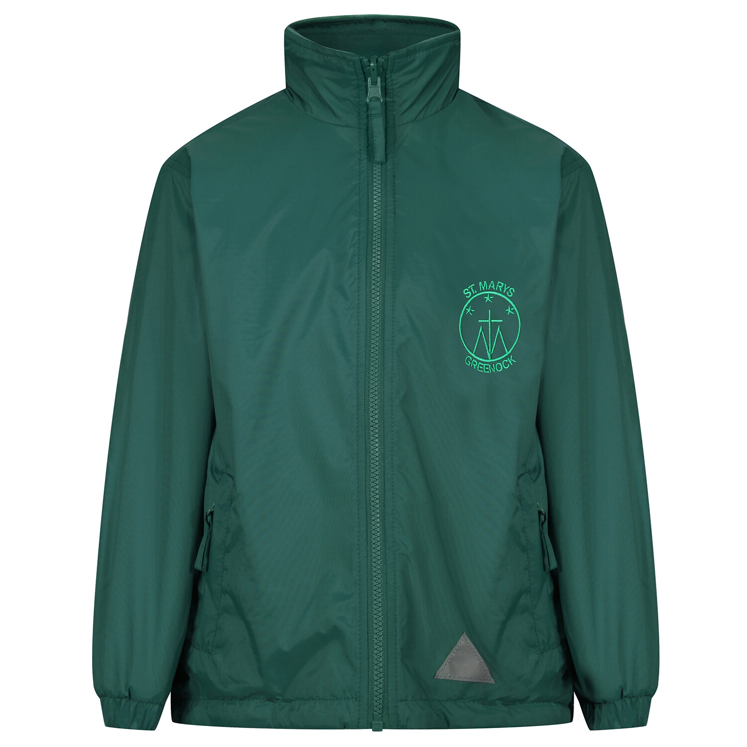 St Mary's Primary 'Lightweight' Rain Jacket (Fleece lined)