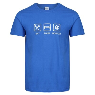 Morton 'Eat, Sleep, Morton' Leisure T-Shirt