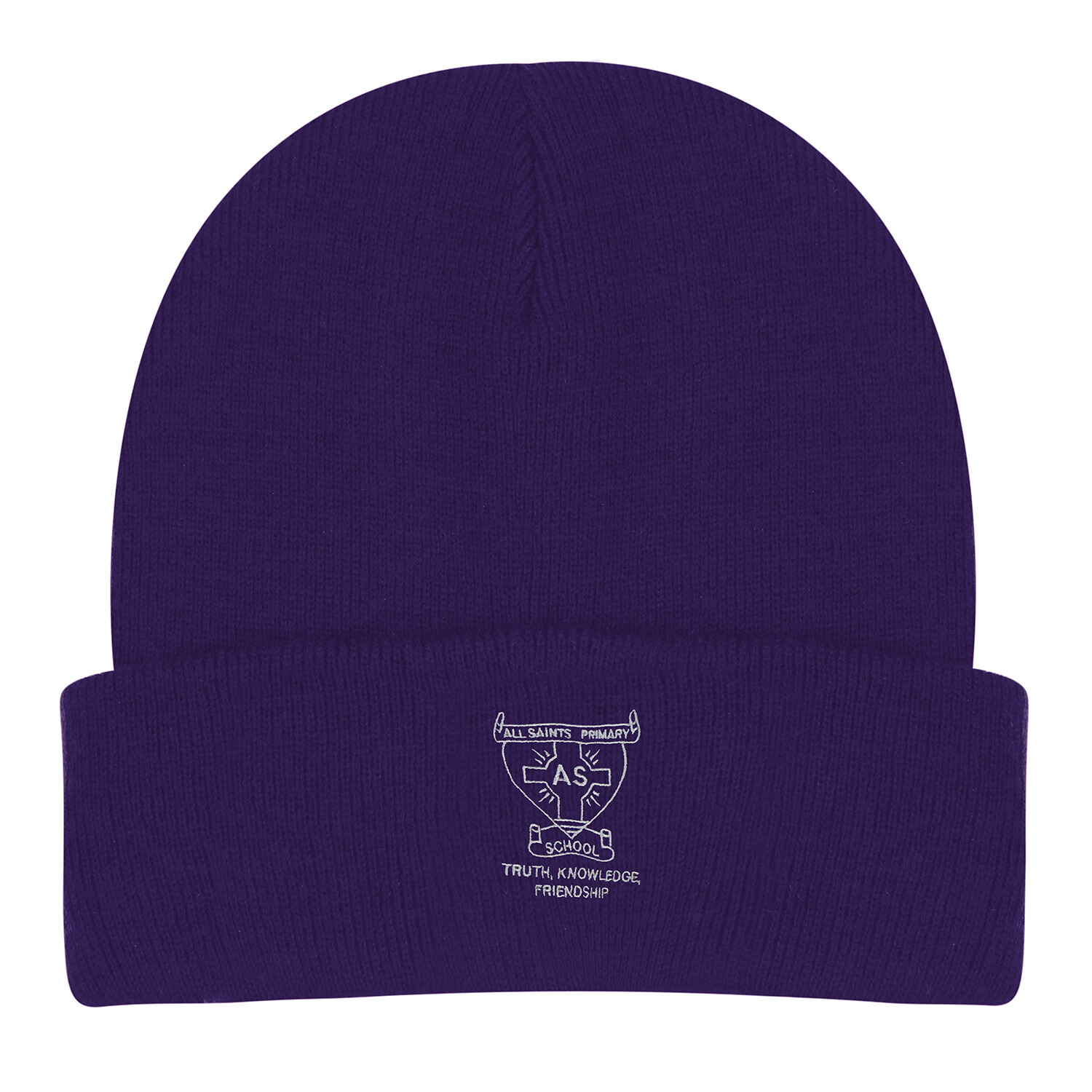 All Saints Primary Wooly Hat