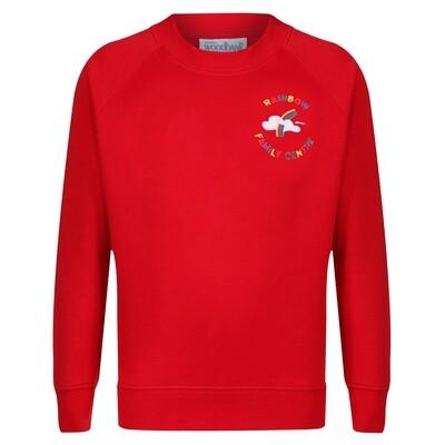 Rainbow Family Centre Sweatshirt (choice of colours)
