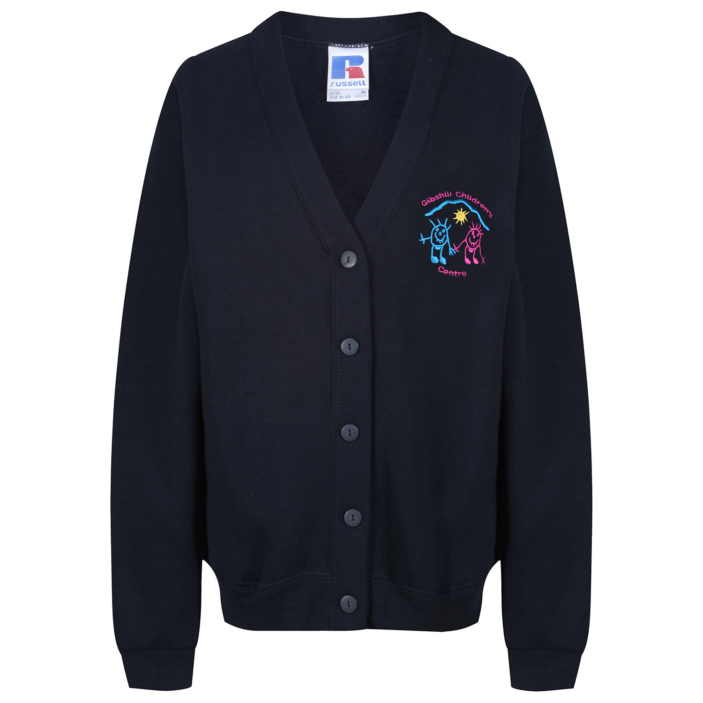 Gibshill Childrens' Centre Sweatshirt Cardigan