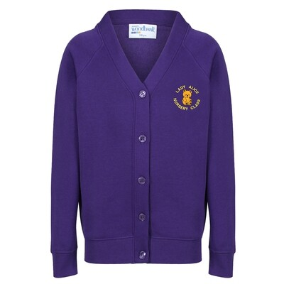 Lady Alice Nursery Sweatshirt Cardigan