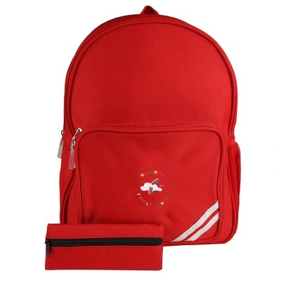 Rainbow Family Centre Backpack (choice of colours)