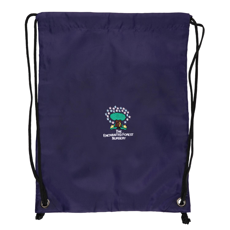 Enchanted Forest Nursery Gym Bag