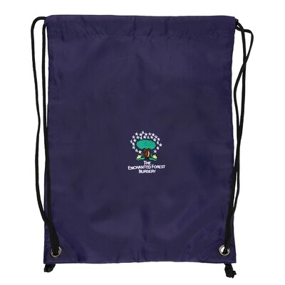 Enchanted Forrest Nursery Gym Bag
