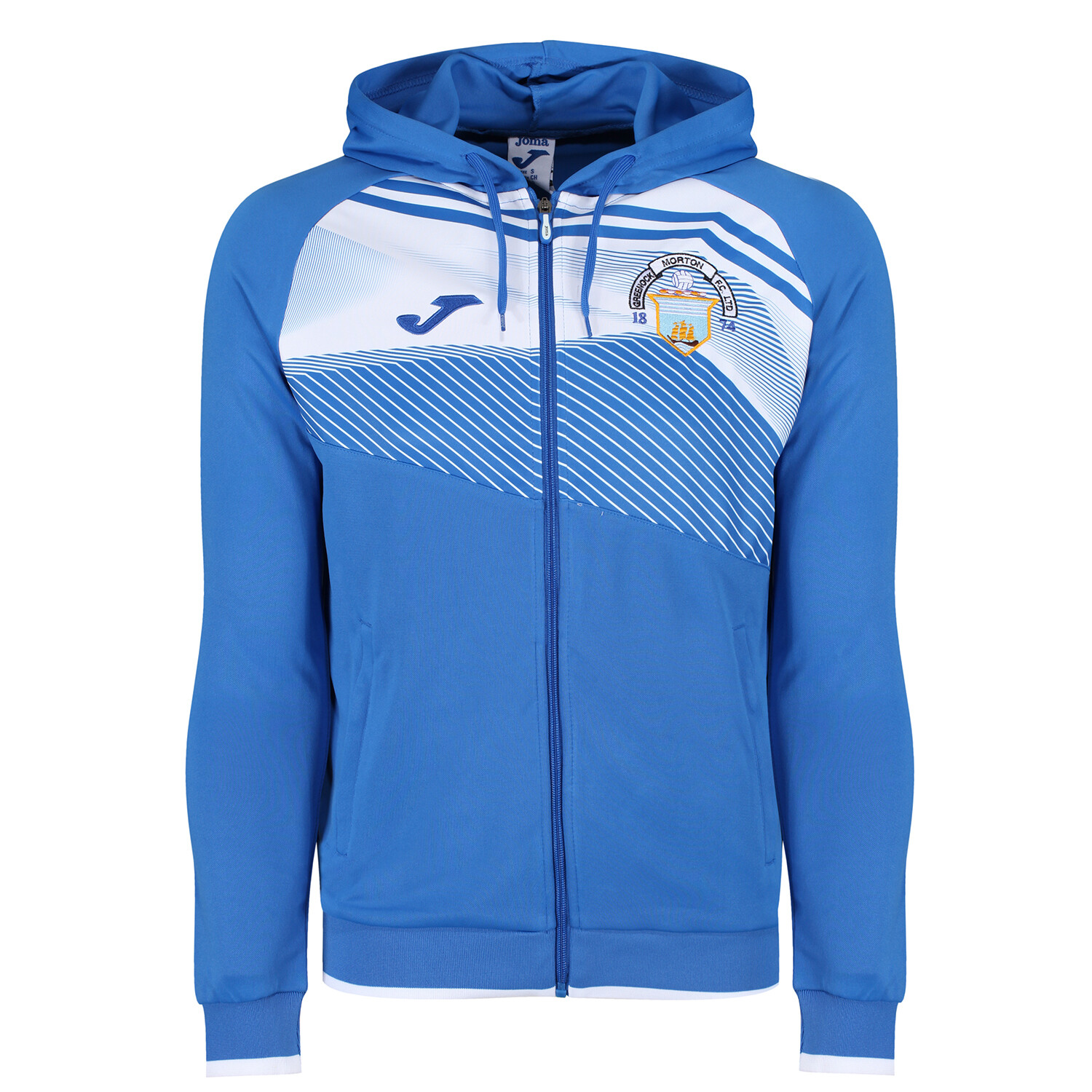Morton 'Community Trust' Full Zip Hoody