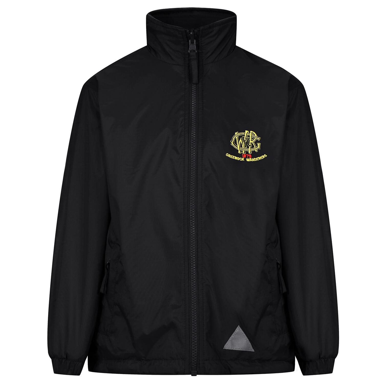 GWRFC 'Lightweight' Rain Jacket (Fleece lined)
