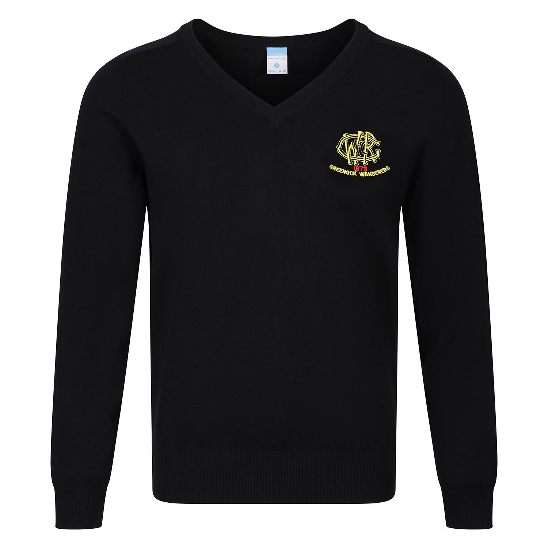GWRFC Knitted V-neck