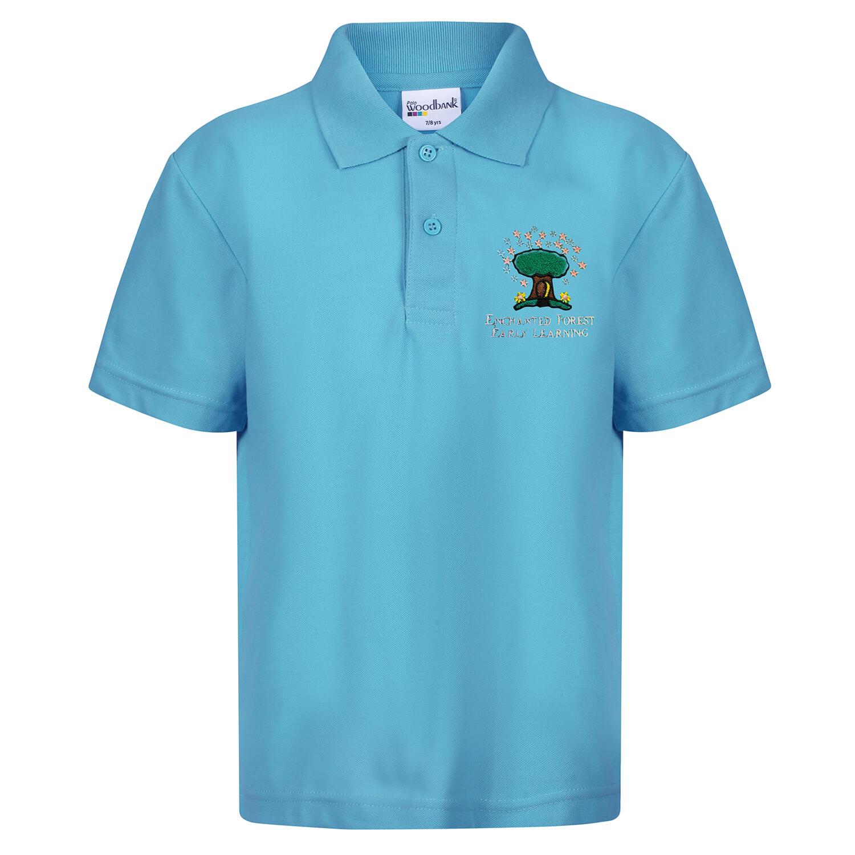Enchanted Forest ROBROYSTON Nursery Staff Polo Shirt (Mens) (RCSK403)