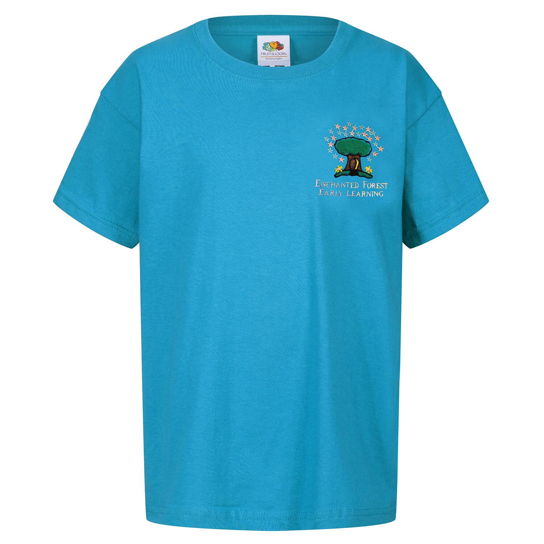 Enchanted Forest ROBROYSTON Nursery Staff T-Shirt (Ladies) (RCS61420)
