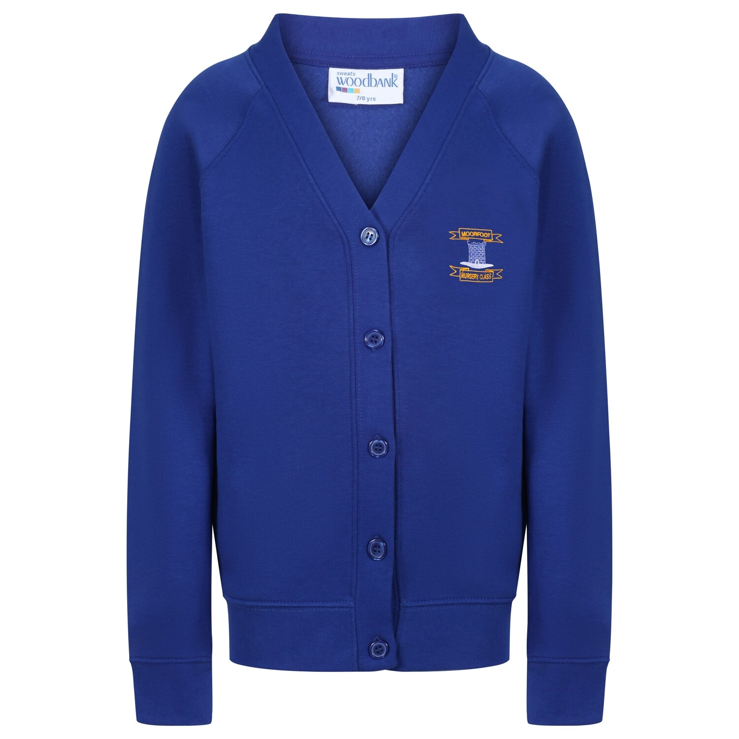 Moorfoot Nursery Sweatshirt Cardigan