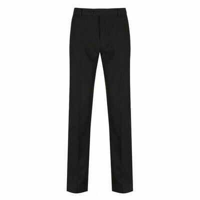 SALE Trutex Primary School Classic Fit Trouser in Black (Age 7 to Age 12 only) (RCS TFF)