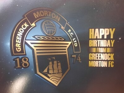 Morton Birthday Card
