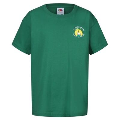 St John's Primary Staff T-Shirt (Unisex) (RCS5000)