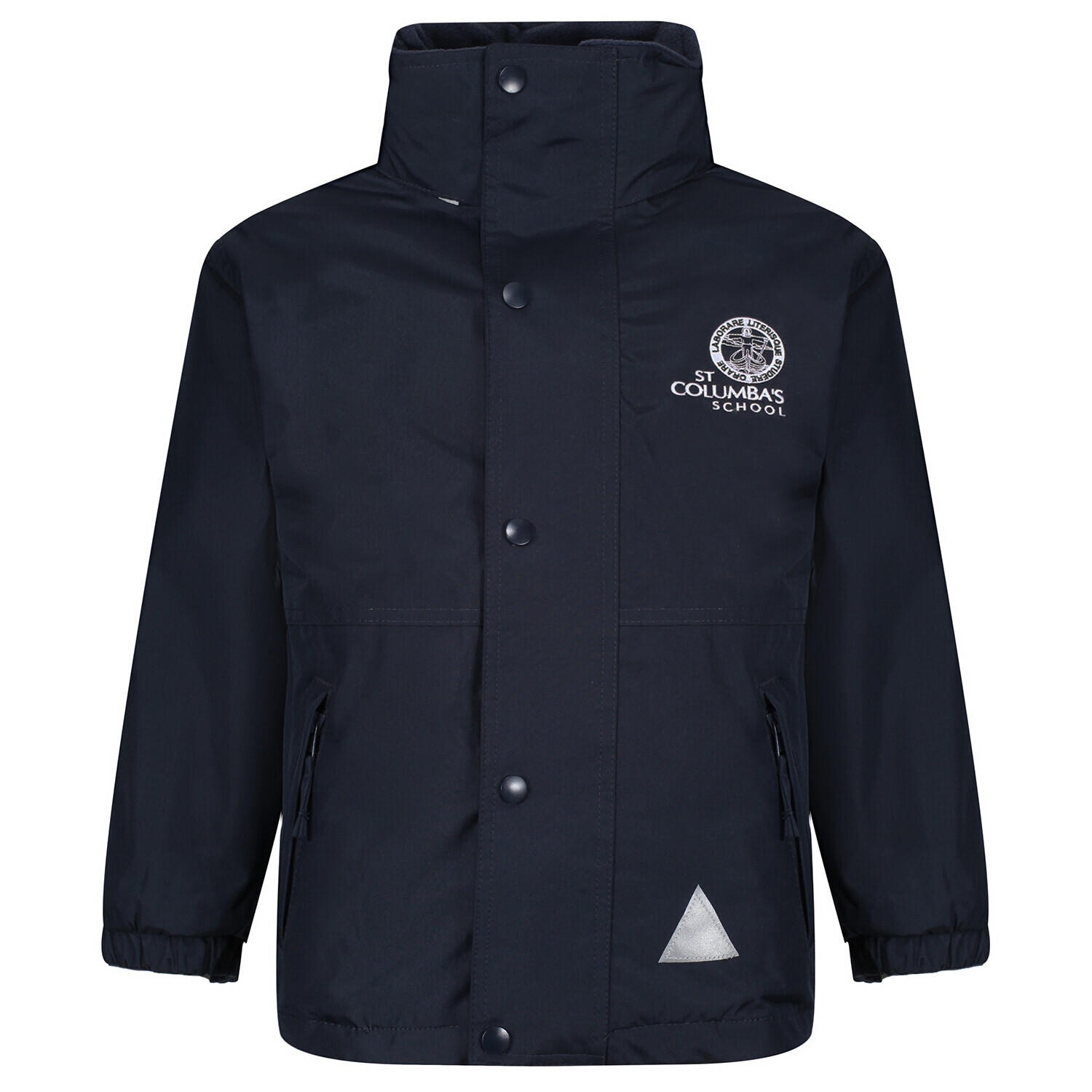 St Columba's Senior School Heavy Rain Jacket (Fleece lined)