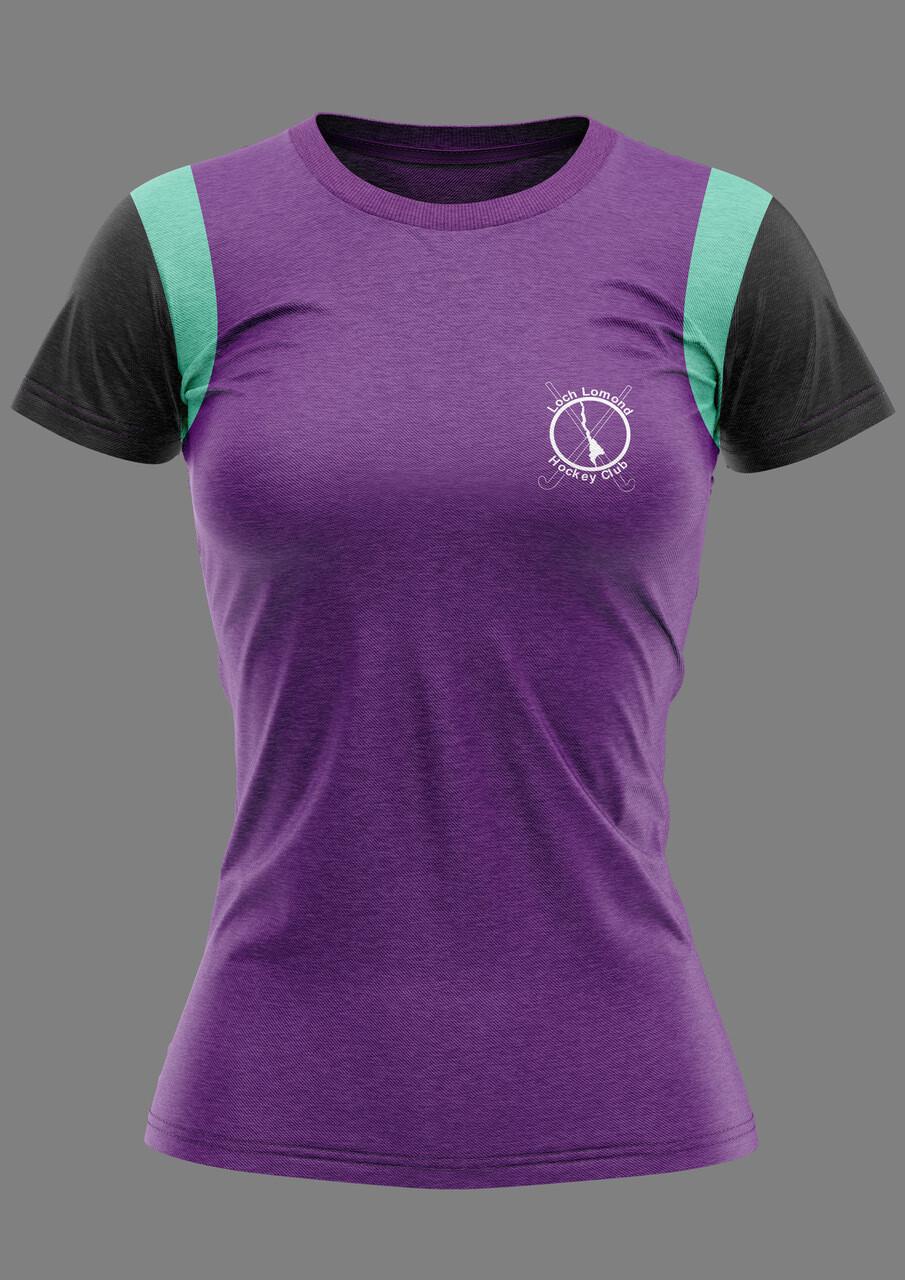 Loch Lomond Hockey Training T-Shirt in 'Short Sleeve'