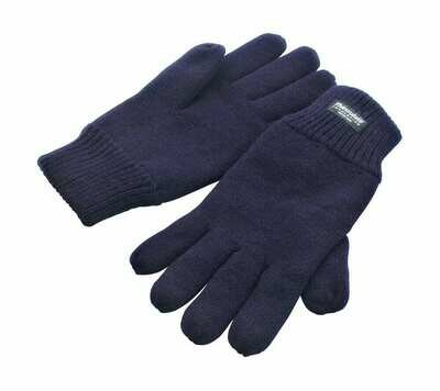 St Columba's Senior School 'Knitted Glove' (RCSR147) in Navy