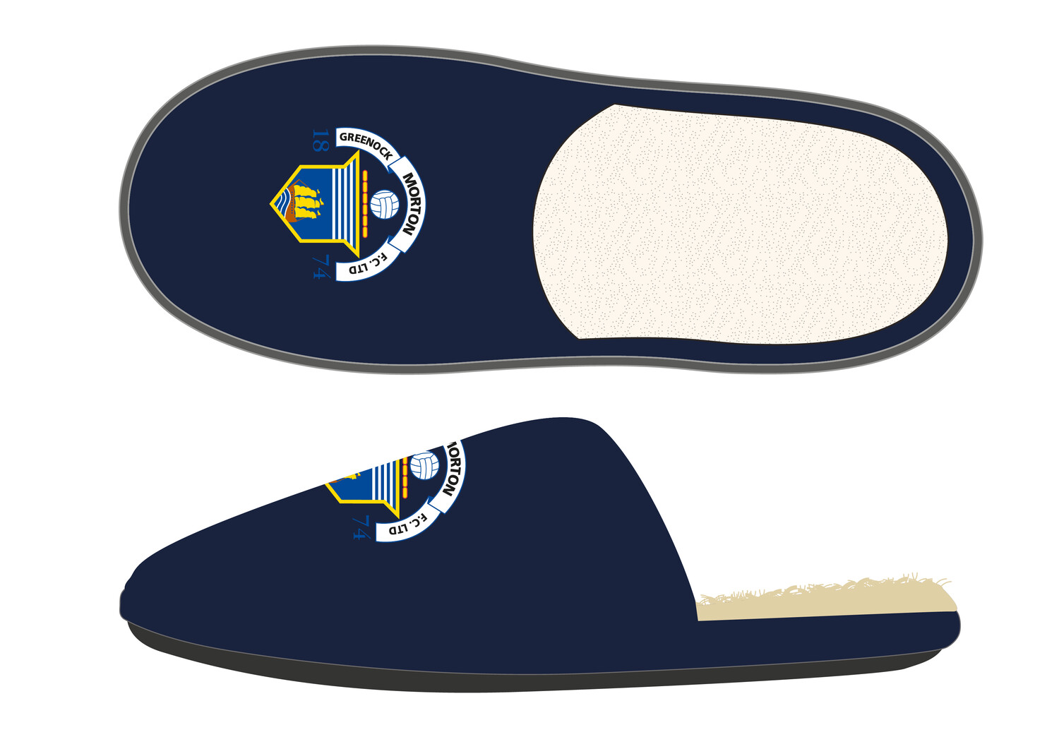 Morton Slippers (New product - On sale soon)