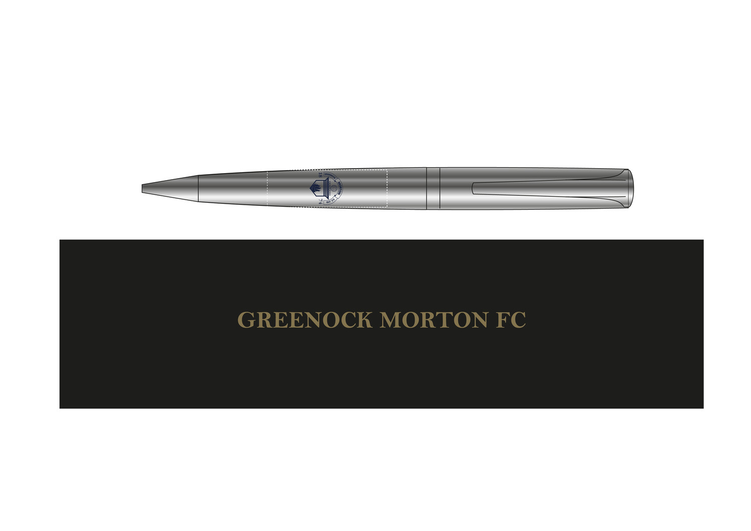 Morton Boxed Pen (New product - On sale soon)