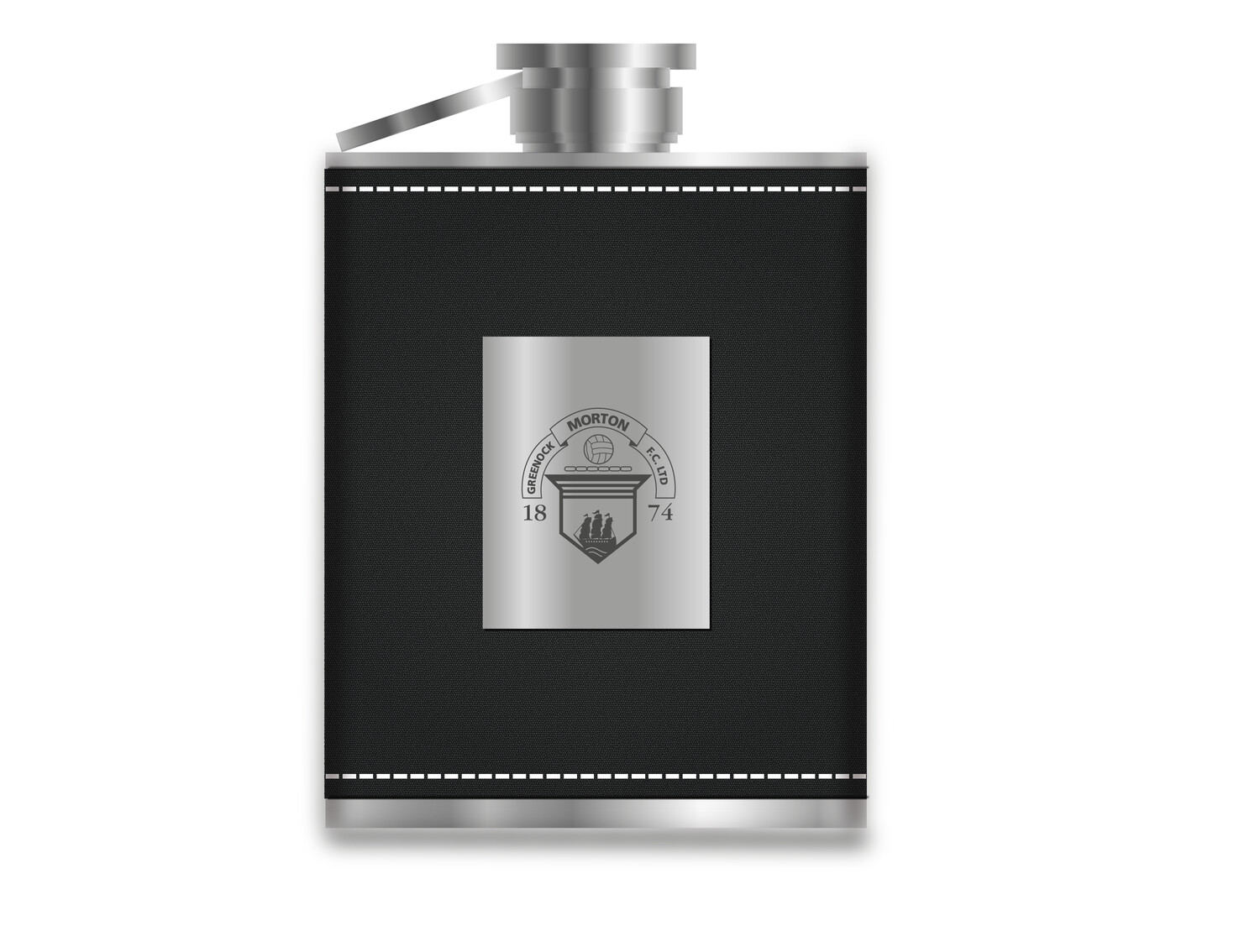 Morton Leather Hip Flask (New product - On sale soon)