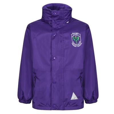 Aileymill Primary Staff Heavy Rain Jacket (Fleece lined)