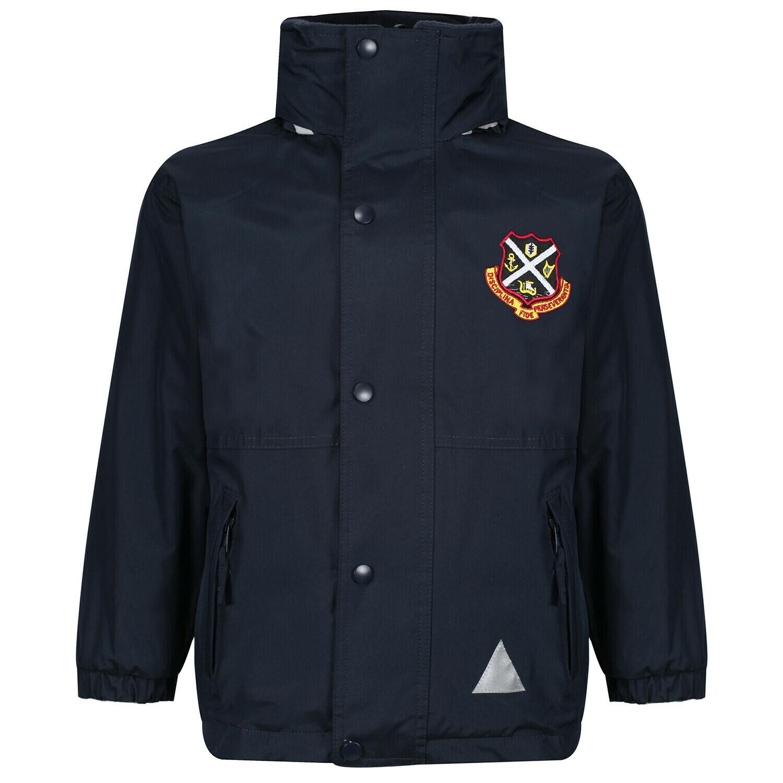 Dunoon Primary Staff Heavy Rain Jacket (Fleece lined)