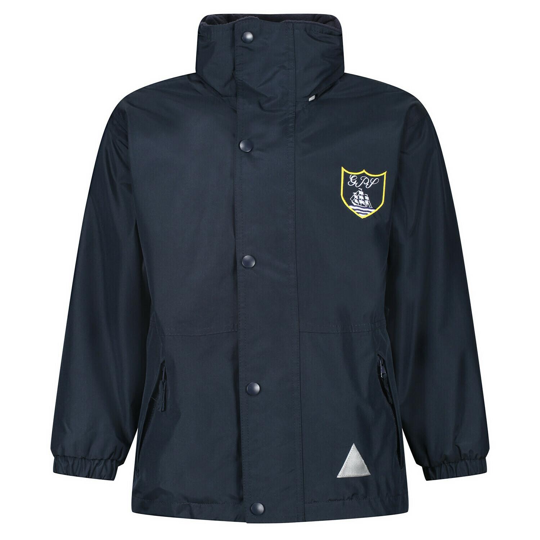 Gourock Primary Staff Heavy Rain Jacket (Fleece lined)