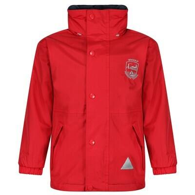 Inverkip Primary Staff Heavy Rain Jacket (Fleece lined)