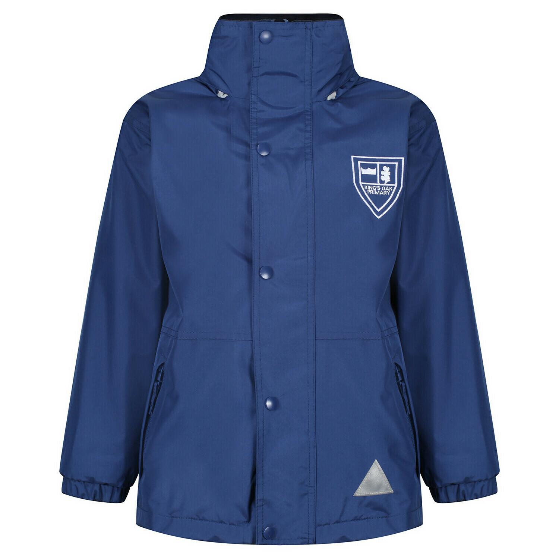 King's Oak Primary Staff Heavy Rain Jacket (Fleece lined)
