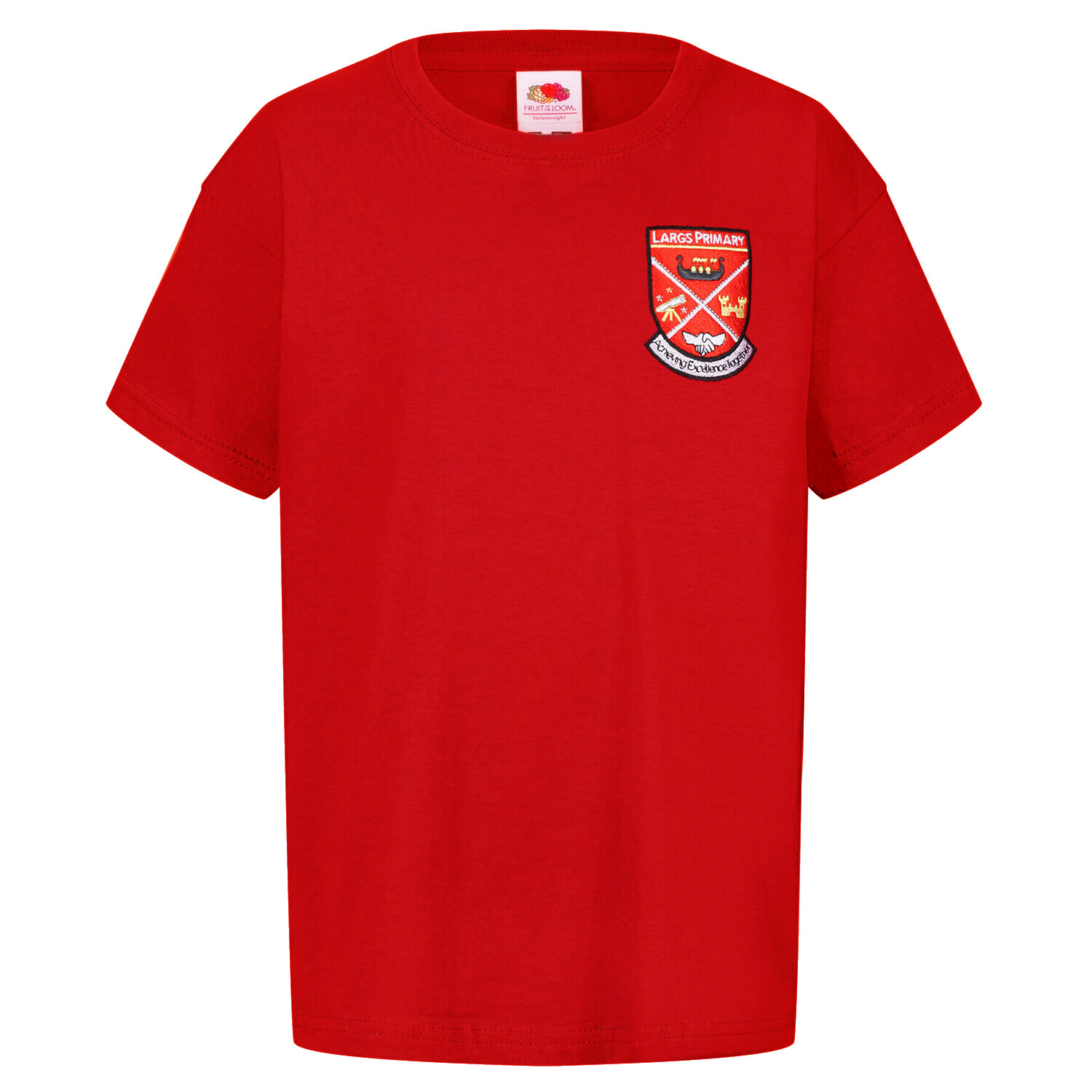 Largs Primary Staff T-Shirt (Unisex) (RCS5000)