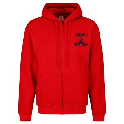 Moorfoot Primary Staff ZIPPER Hoody (Unisex) (RCSGD58)