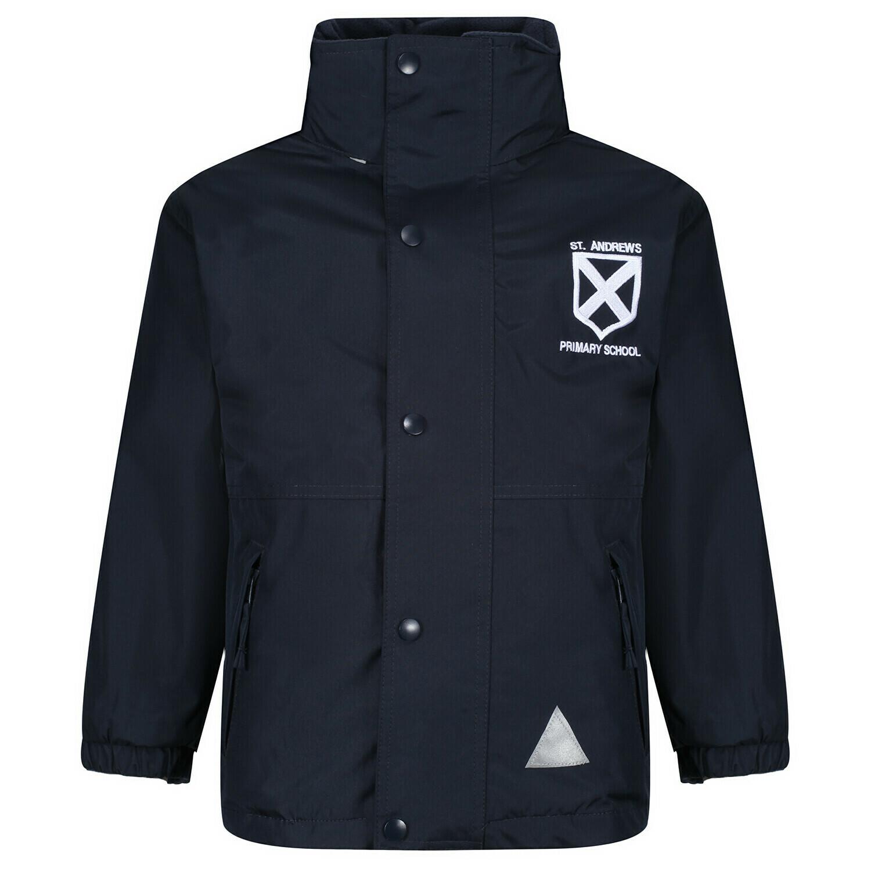 St Andrew's Primary Staff Heavy Rain Jacket (Fleece lined)