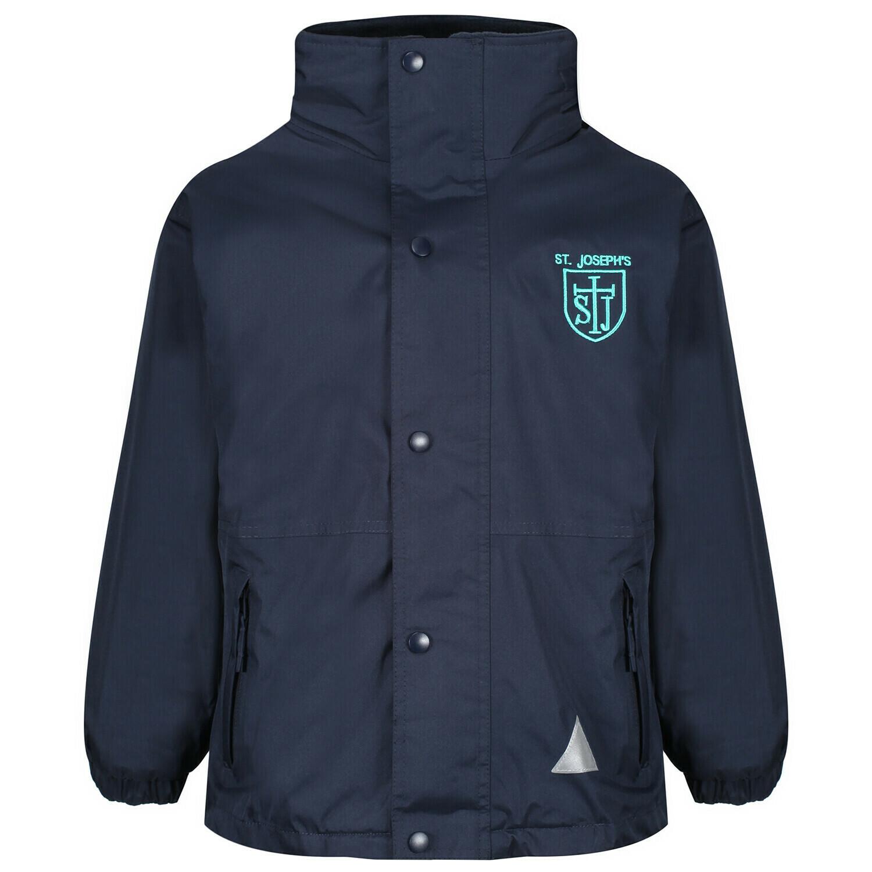 St Joseph's Primary Staff Heavy Rain Jacket (Fleece lined)