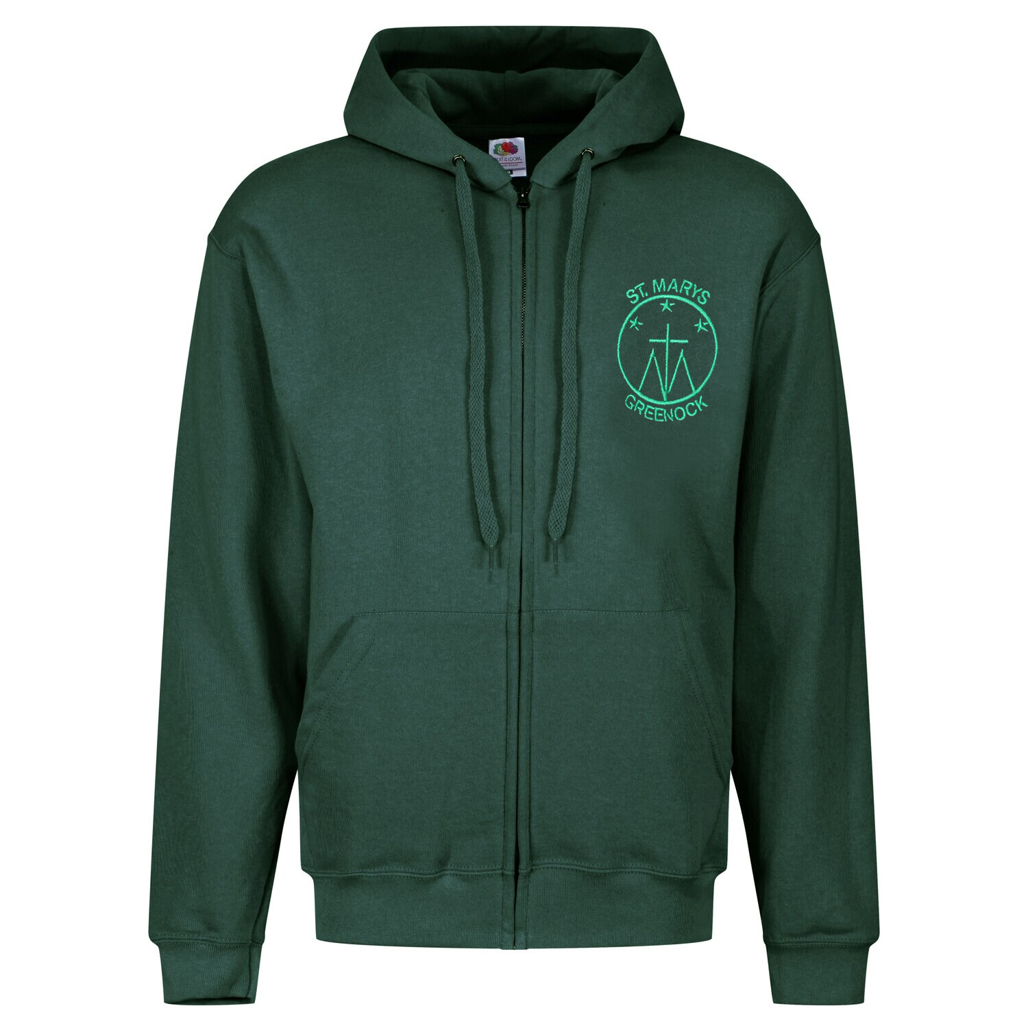 St Mary's Primary Staff ZIPPER Hoody (Unisex) (RCSGD58)