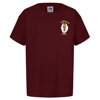 St Michael's Primary Staff T-Shirt (Unisex) (RCS5000)