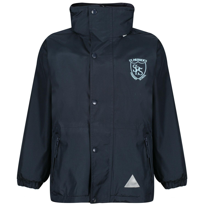 St Patrick's Primary Staff Heavy Rain Jacket (Fleece lined)