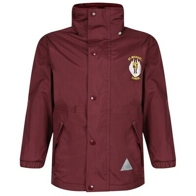 St Michael's Primary Staff Heavy Rain Jacket (Fleece lined)