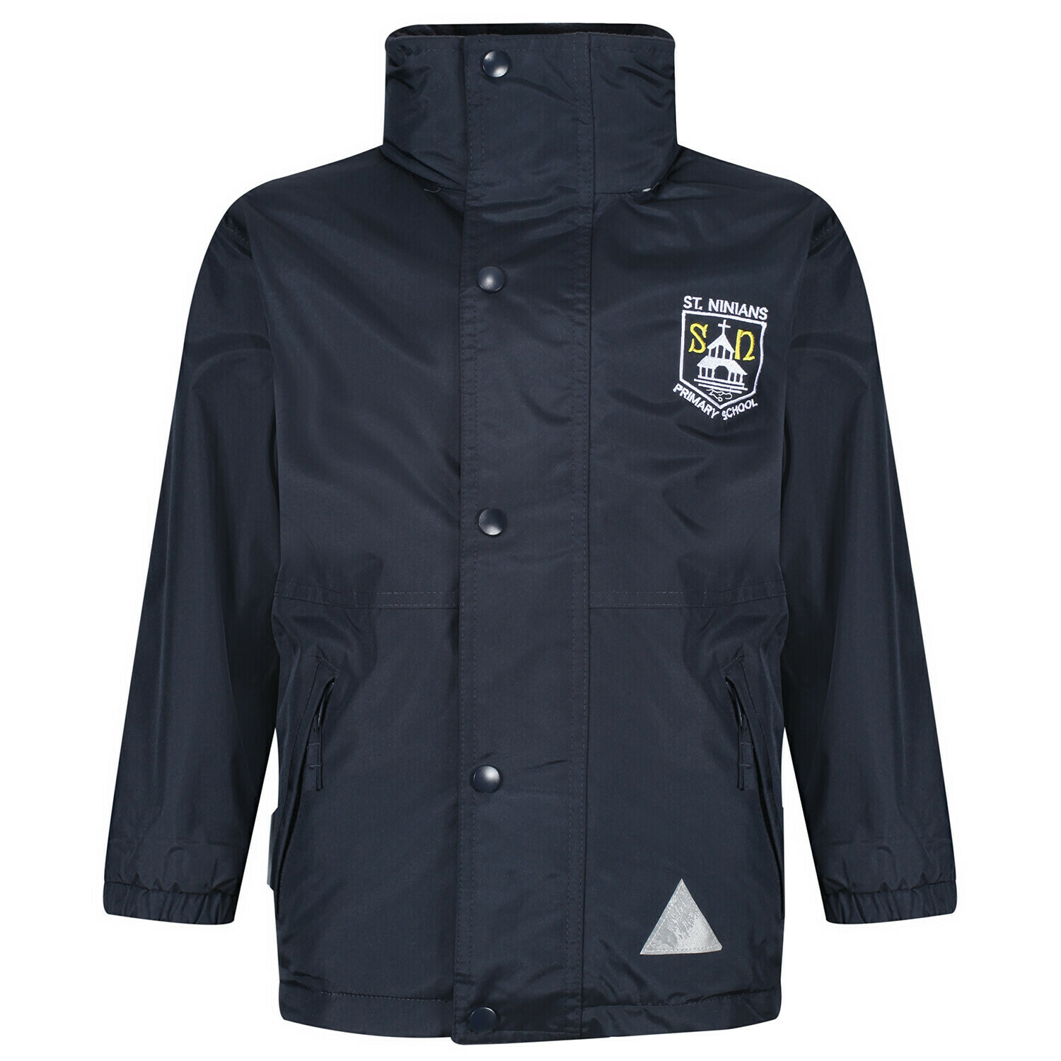 St Ninian's Primary Staff Heavy Rain Jacket (Fleece lined)