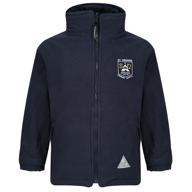 St Ninian's Primary Staff Fleece (Unisex) (RCSRS36)