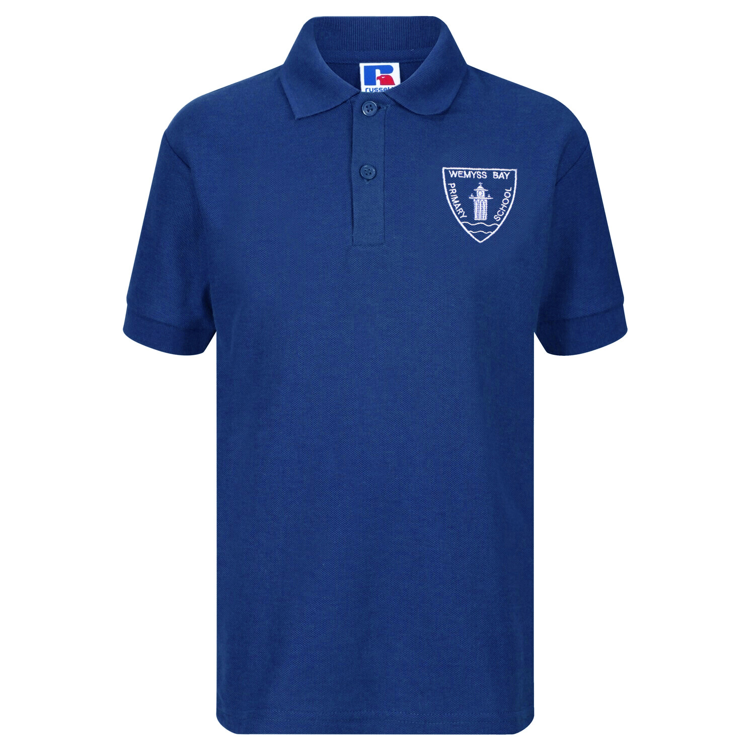 Wemyss Bay Primary Staff Polo (Unisex) (RCS539M)