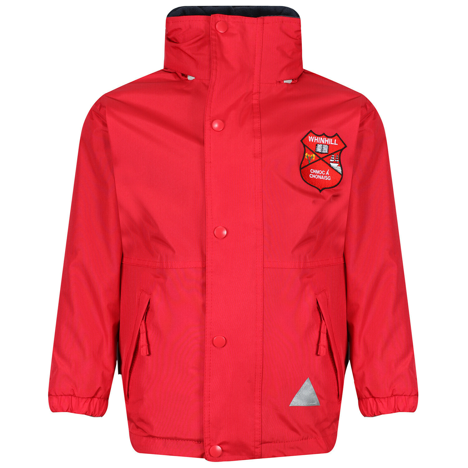 Whinhill Primary Staff Heavy Rain Jacket (Fleece lined)