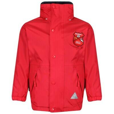 Whinhill Primary Staff Heavy Rain Jacket (Fleece lined)
