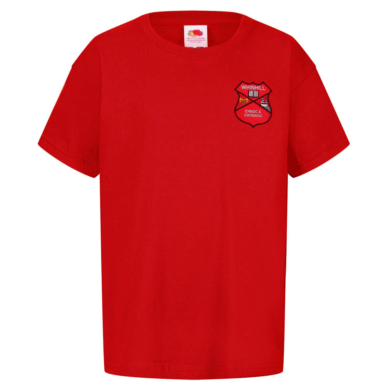Whinhill Primary Staff T-Shirt (Unisex) (RCS5000)