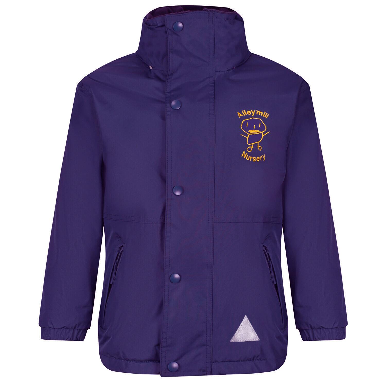 Aileymill Nursery Staff Heavy Rain Jacket (Fleece lined)