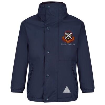 Dunoon Primary ELC Nursery Staff Heavy Rain Jacket (Fleece lined)