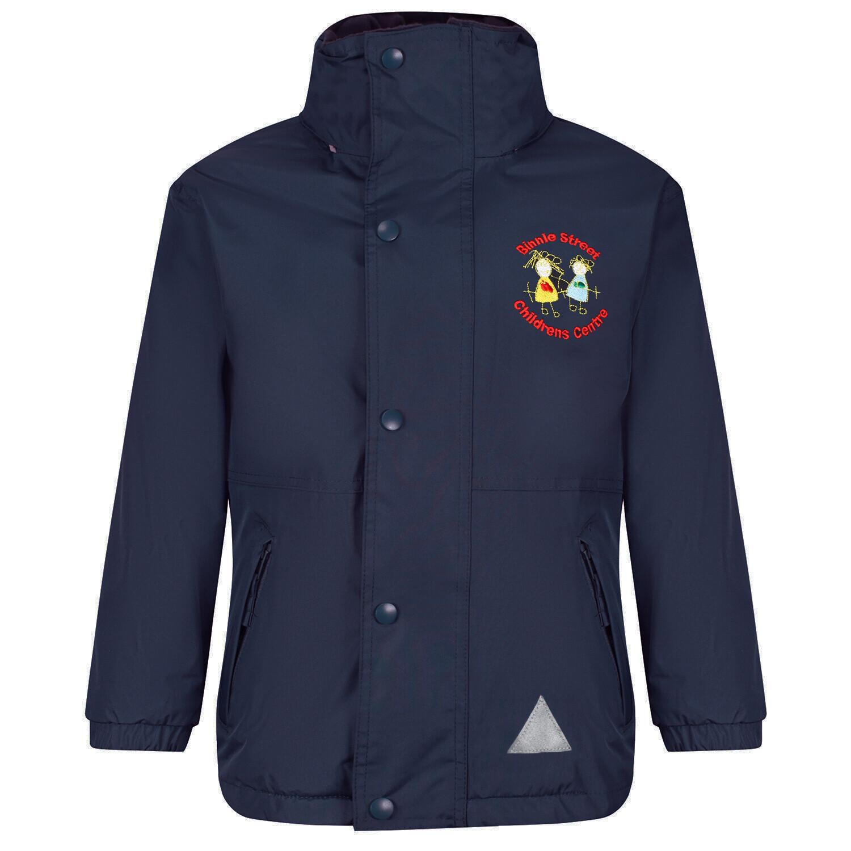 Binnie Street Nursery Staff Heavy Rain Jacket (Fleece lined)
