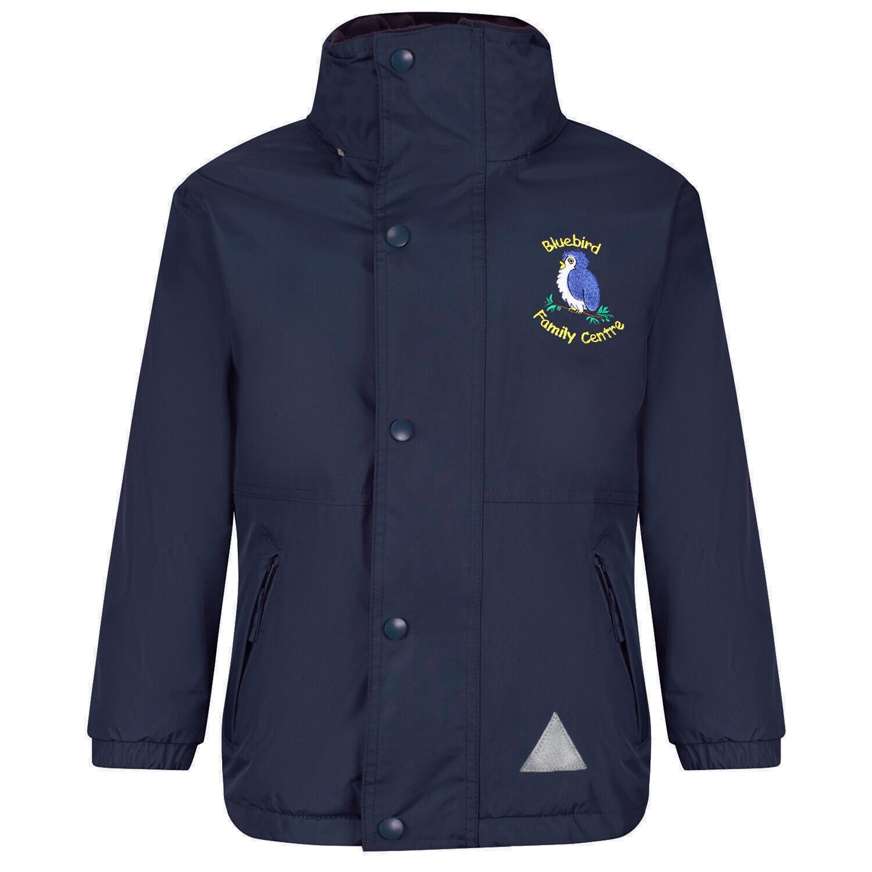 Bluebird Nursery Staff Heavy Rain Jacket (Fleece lined)