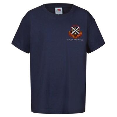 Dunoon Primary ELC Nursery Staff T-Shirt (Unisex) (RCS5000)